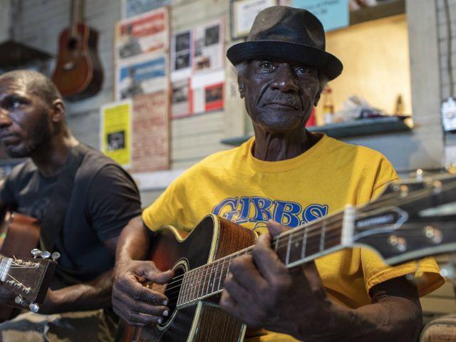 Blues gitaristen, Jackson, Mississippi
