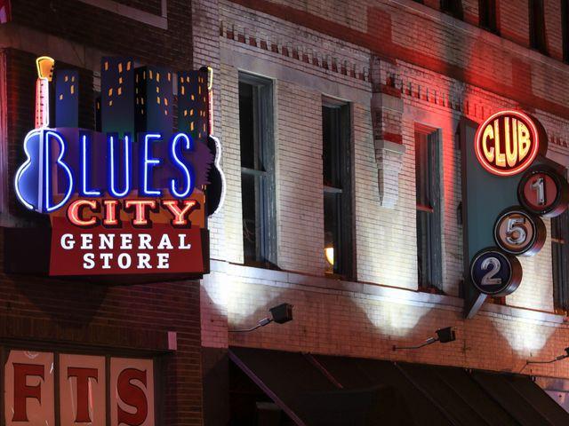 Blues City, Memphis, Tennessee