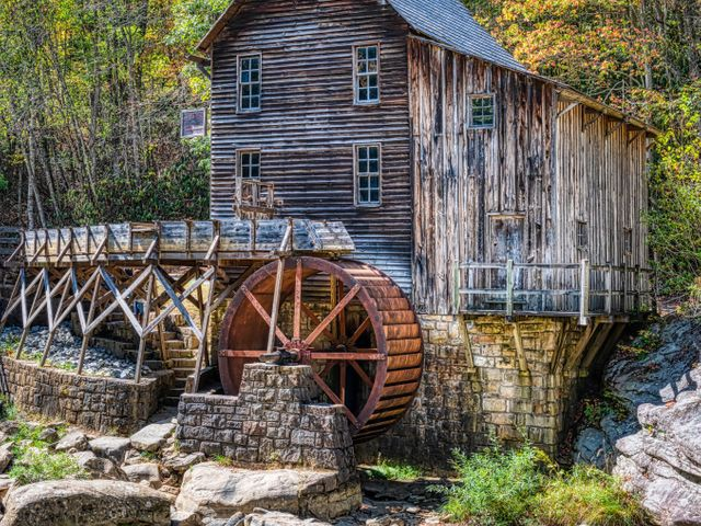 Grist Mill, West Virginia