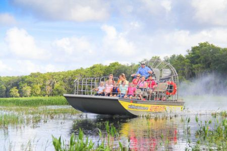 Afbeelding van Airboat Annual Pass Wild Florida Airboats 450x300