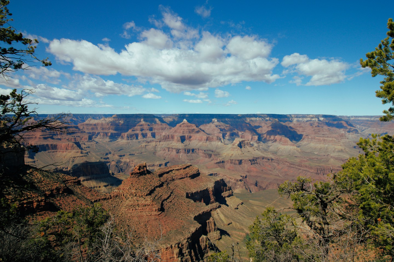 Grand Canyon National Park Arizona tijdens helikoptervlucht