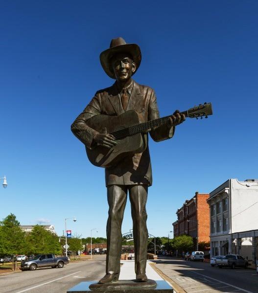 Afbeelding van Photos Alabama Montgomery Hank Williams Museum Art Meripol