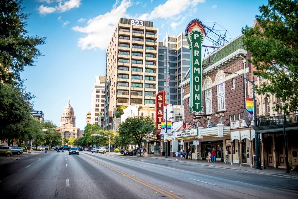 Afbeelding van Photos Austin Tx Congress Ave 2015 Courtesy Paramount Theatre