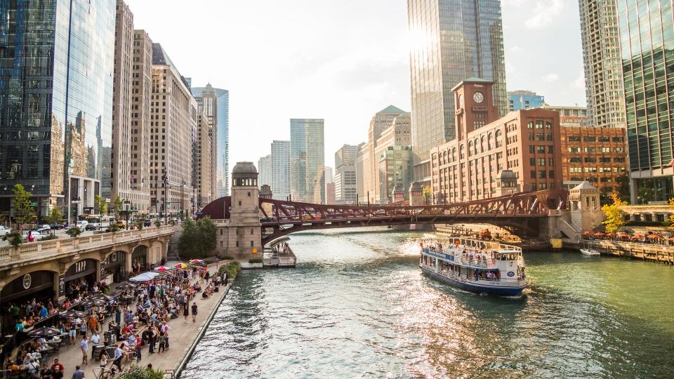 Afbeelding van Photos Chicago Il CC Riverwalk