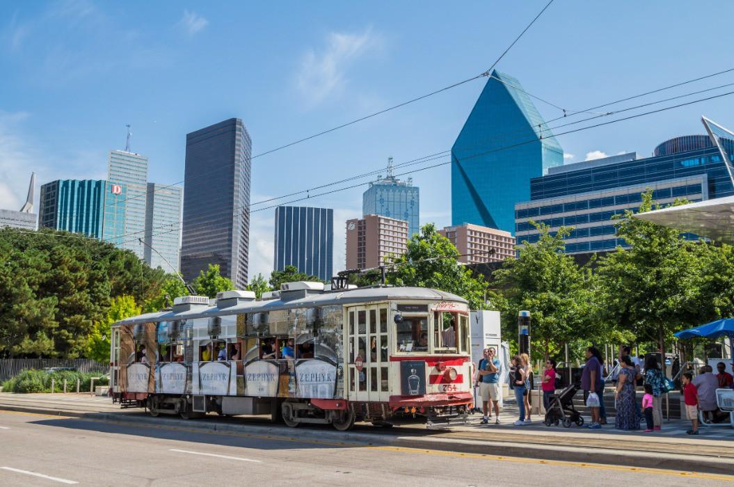 Afbeelding van Photos Dallas Tx Transportation McKinney Avenue Trolley