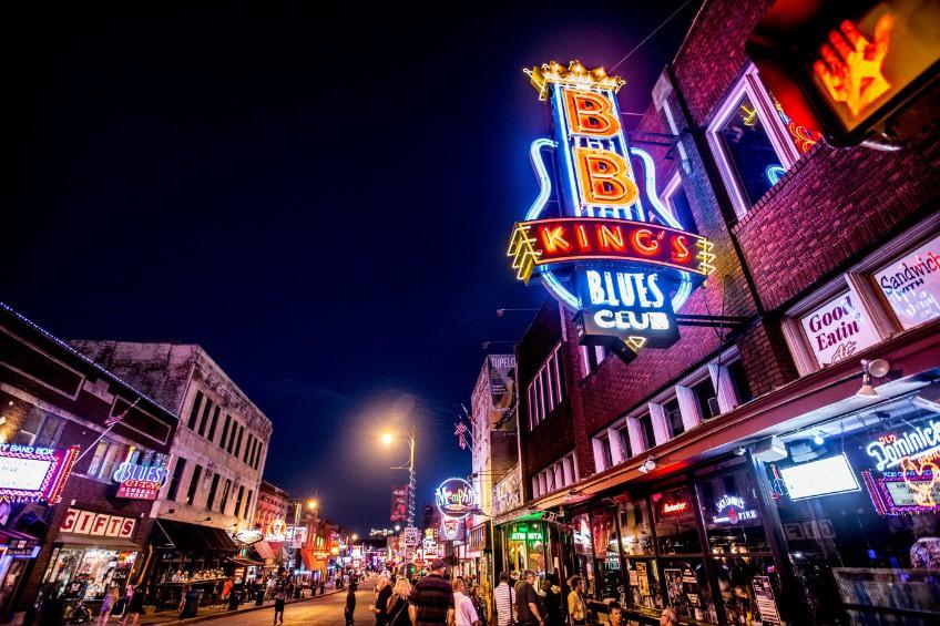 Afbeelding van Photos Memphis Tn Beale Neon 4