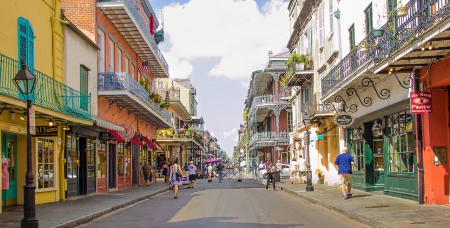 Afbeelding van Photos New Orleans La Royal Street Rectangle