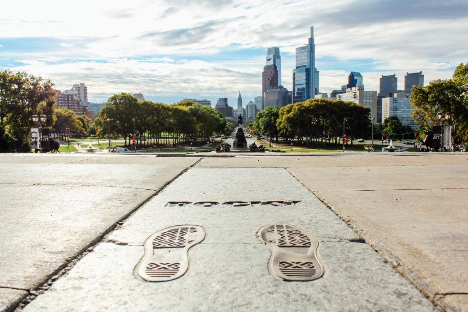 Afbeelding van Photos Philadelphia Pa Rocky Steps Skyline