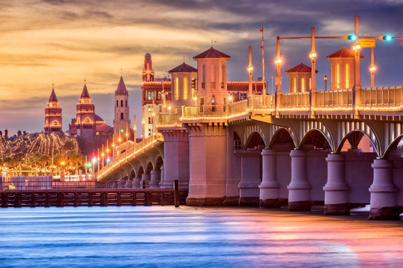 Afbeelding van St Augustine Florida Usa Skyline PNLEX5T