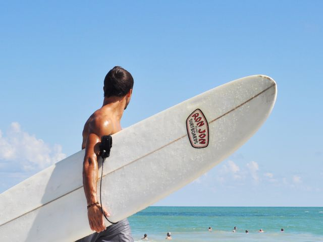 Surfer, Miami Beach