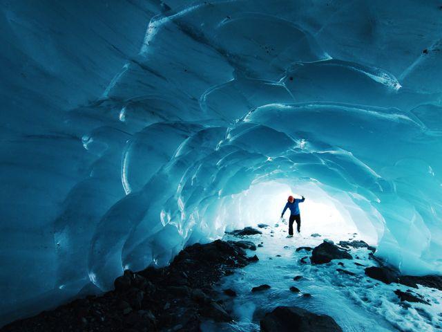 Alaska Ice cave natuur