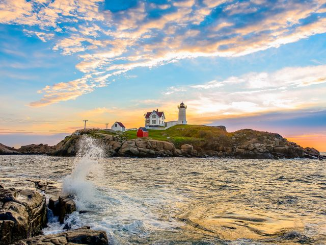 Coast Maine, New England
