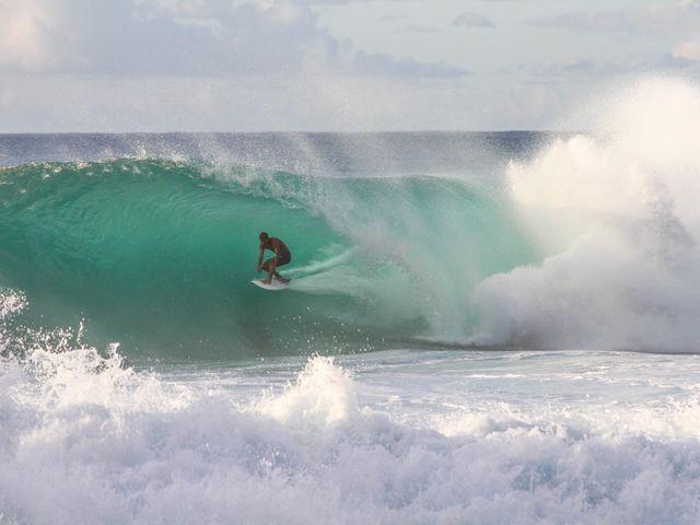 Surfen Oahu, Hawaii vakantie