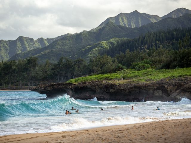 Strand in Oahu, Hawaii