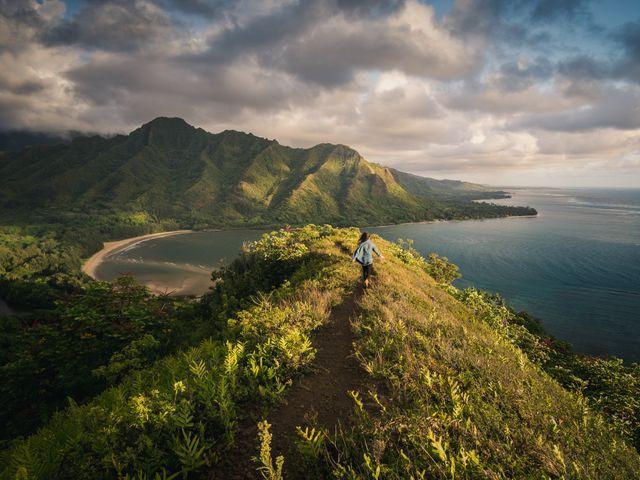 Kauai, Hawaii uitzicht