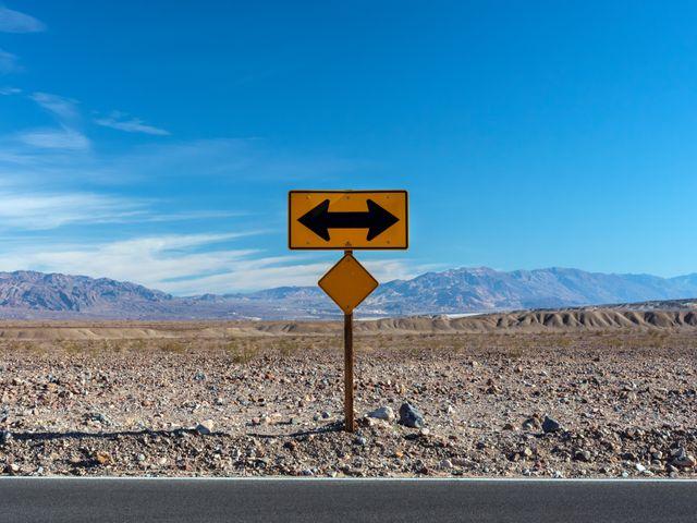 Death Valley National Park Mojavewoestijn