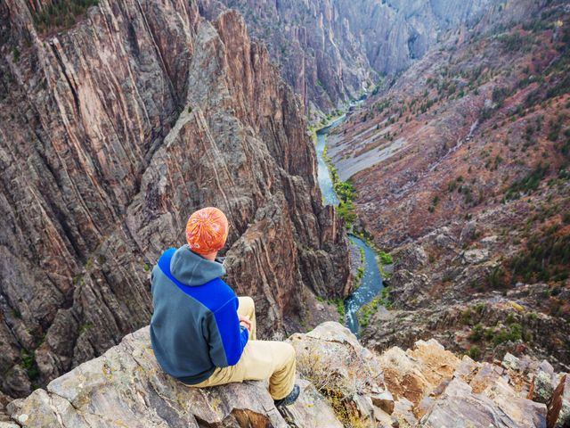 Black Canyon of the Gunnison National Park in Colorado