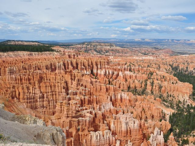 Bryce Canyon, Utah National Park, uitzicht