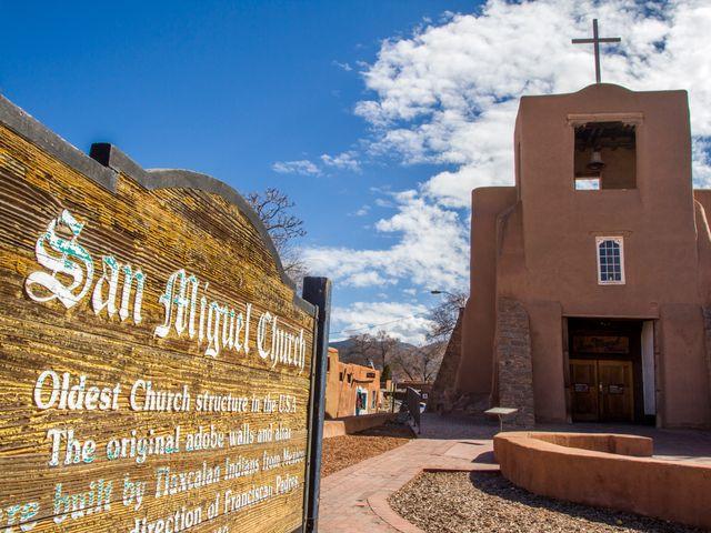 Santa Fe, San Miguel Church, New Mexico