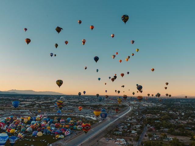 Albuquerque, hot air balloon festival