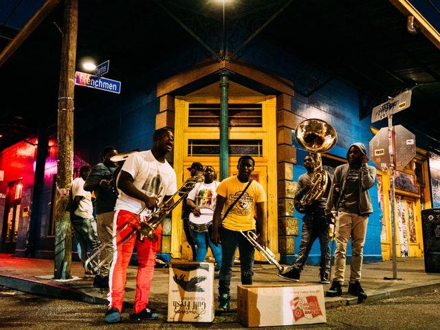 Muziekanten, Frenchmen street , New Orleans