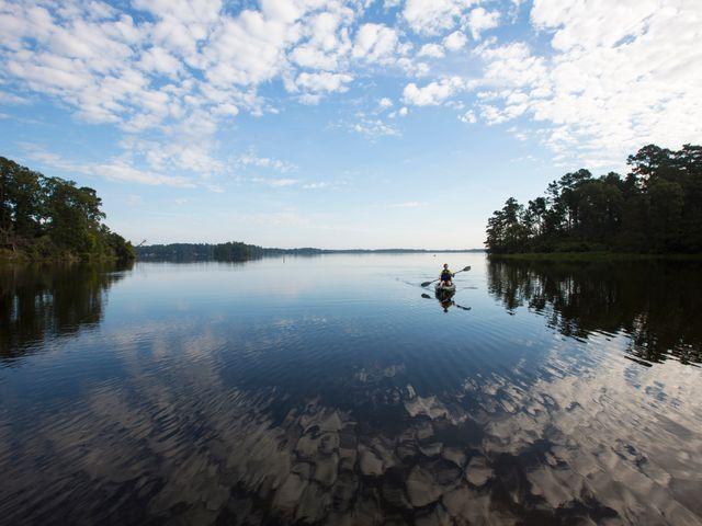 Kayaking Kisatchie National Forest, Louisiana