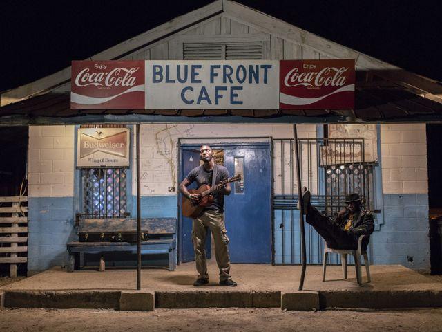 Blue Front Cafe,  Jackson, Mississippi