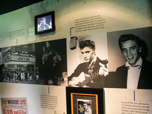 Graceland, the home of Elvis Presley, Memphis Tennessee