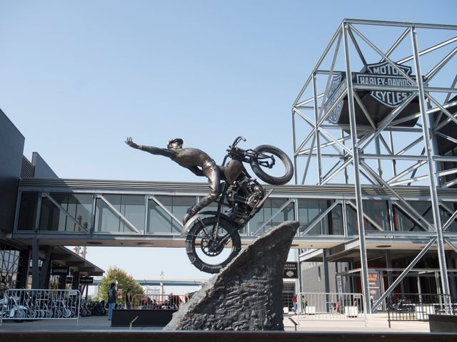 Harley Davidson museum , Milwaukee