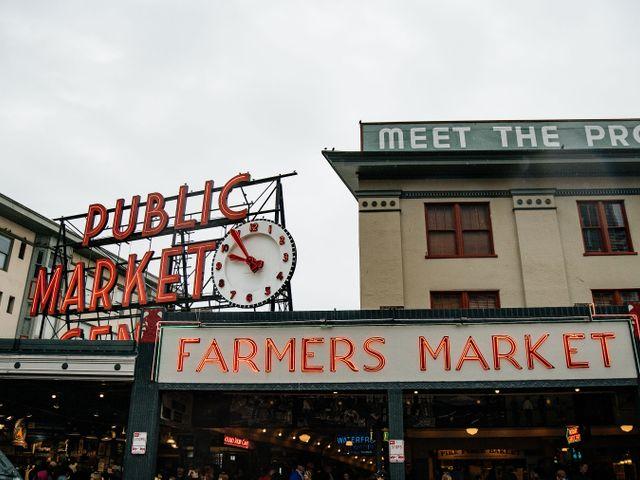 Farmers market Seattle, Washington