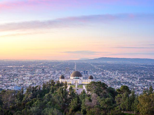 Griffith-observatorium, Los Angeles, Californie640