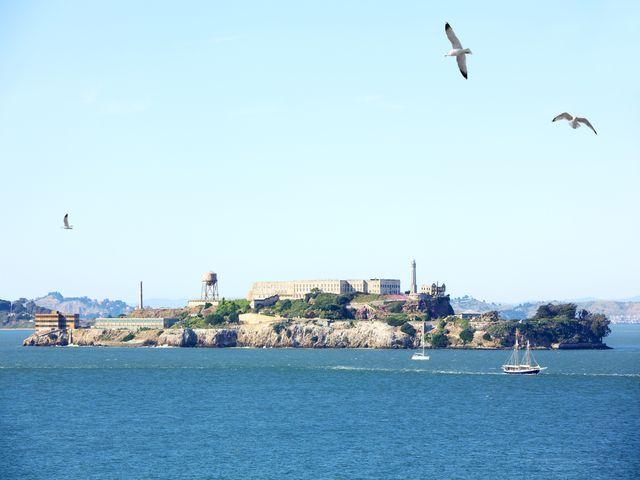 Alcatraz gevangenis, San Francisco, Californie