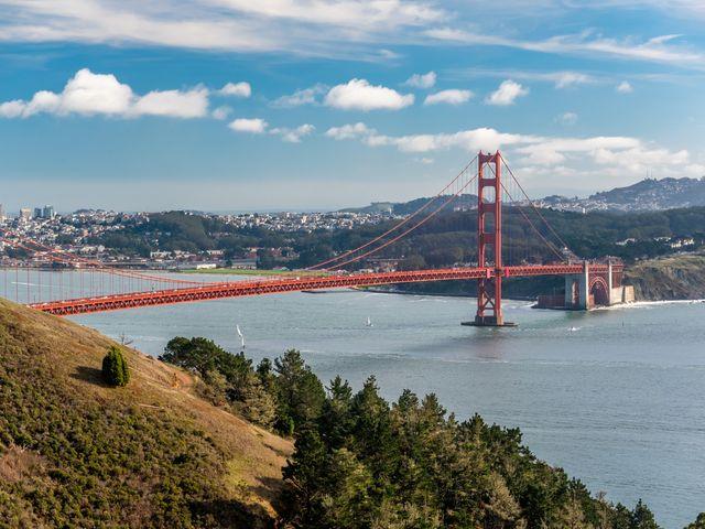 Golden Gate Bridge, San Francisco, Californie view