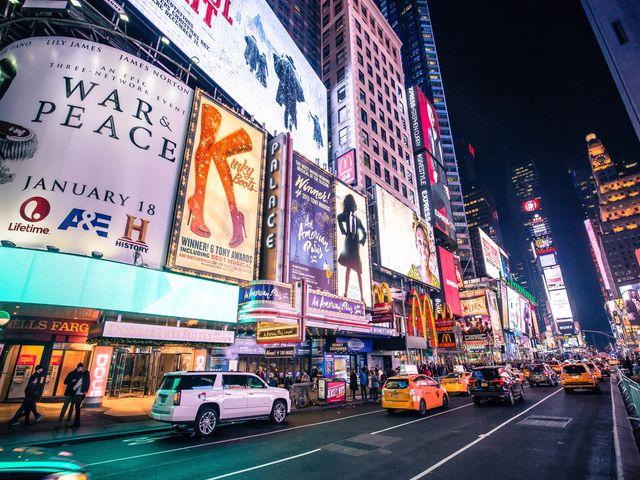 Theater District, New York City
