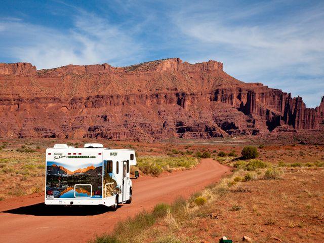 Camperreis Amerika door Nationale Park in de USA