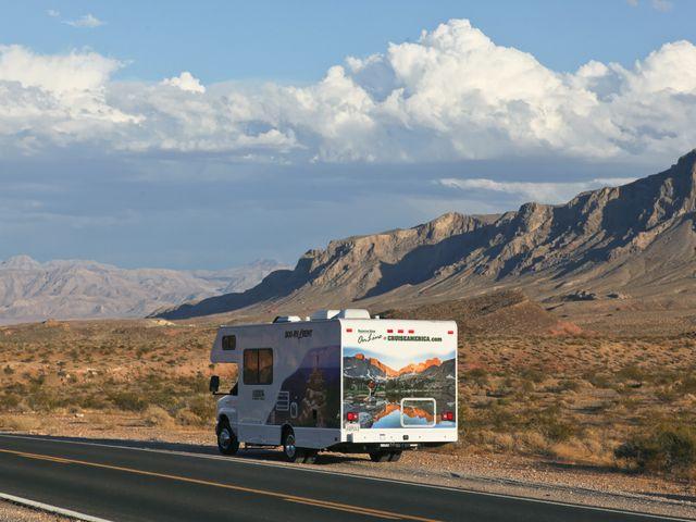 Camperreis door Death Valley