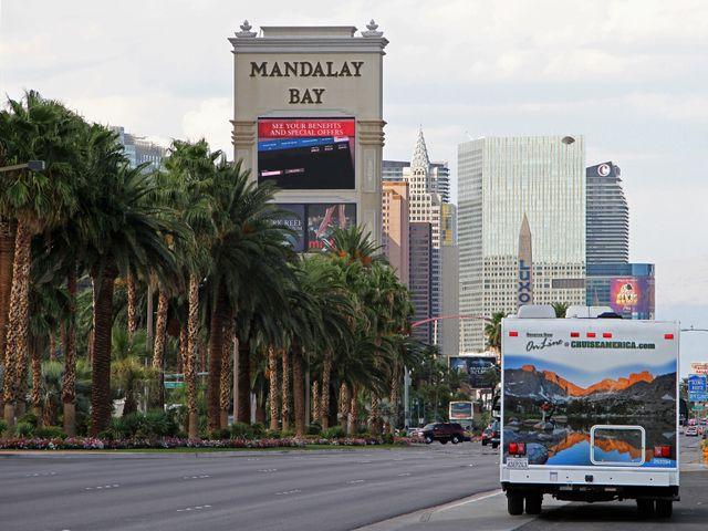 Camperreis in Las Vegas