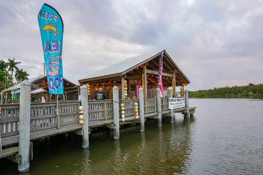 Camellia Street Grill Everglades City Florida