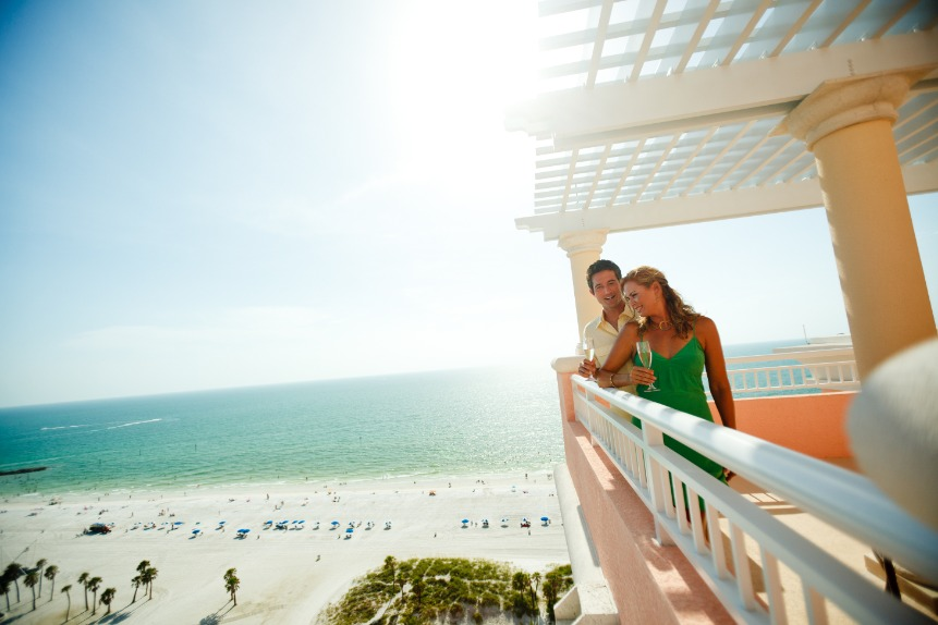 Couple At Hyatt Regency Clearwater Beach Resort Clearwater Beach
