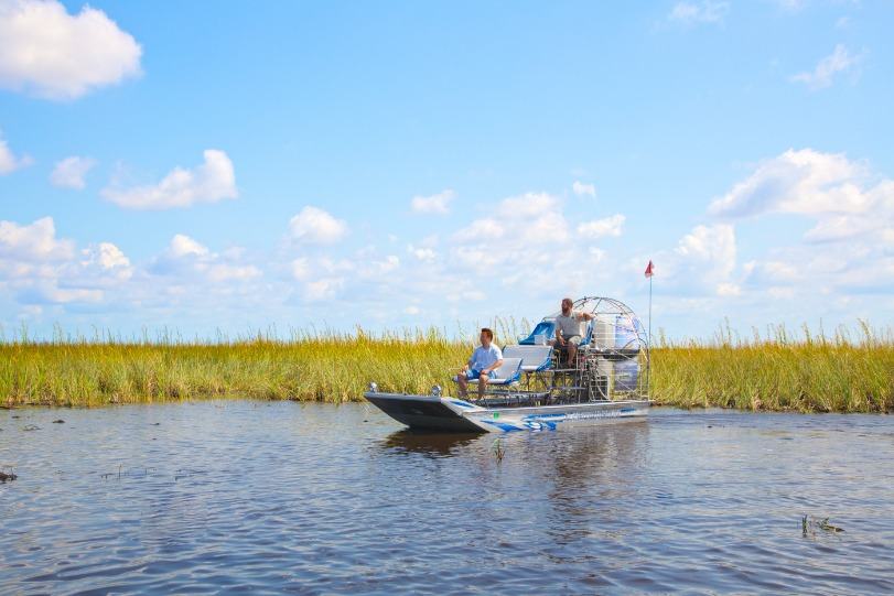 Everglades National Park Airboat