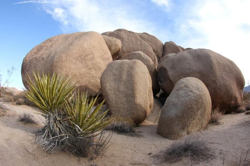 Joshua Tree National Park rotsenformatie