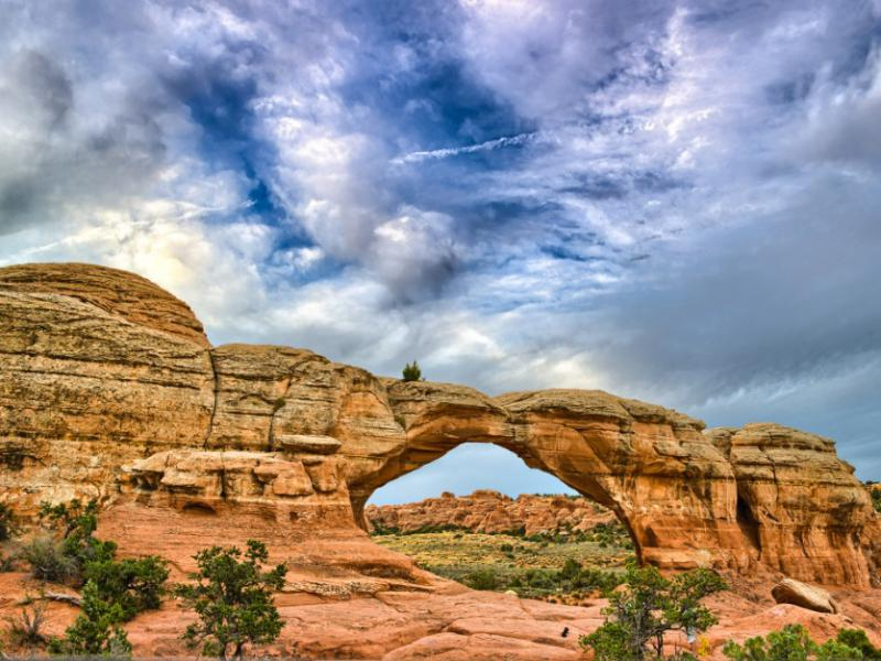 National Parks Selects From MacGillivray Freeman Arches HDRs Broken Arch Beg