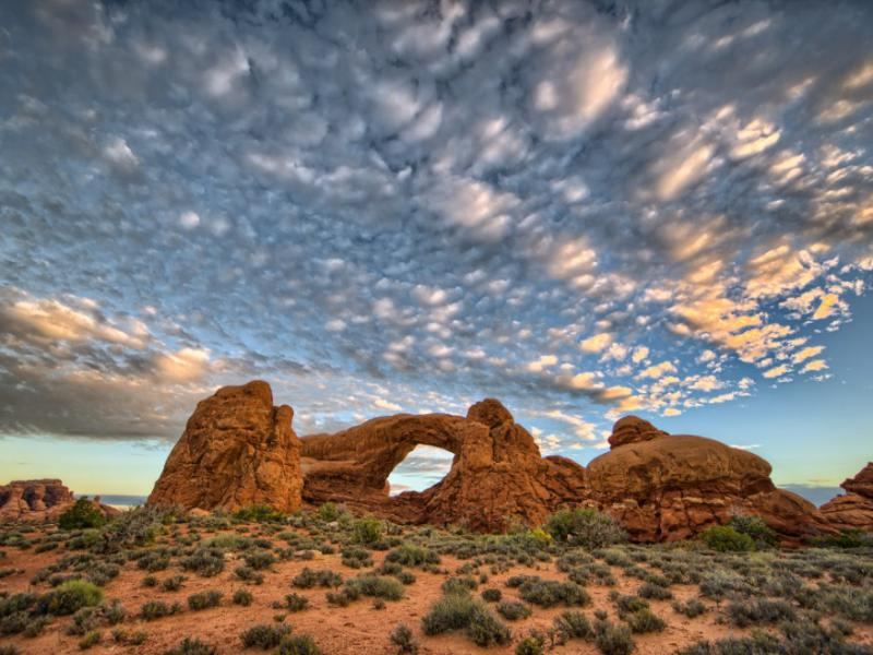 National Parks Selects From MacGillivray Freeman Arches HDRs SouthWindow2DSunrise ProcessedHDR