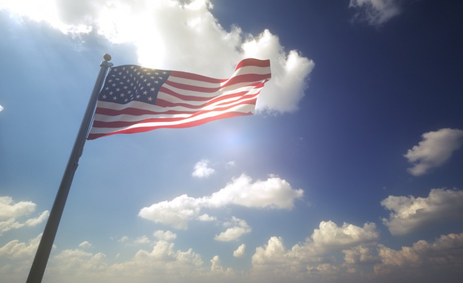 Afbeelding van American Flag Usa Flag 6R825FA