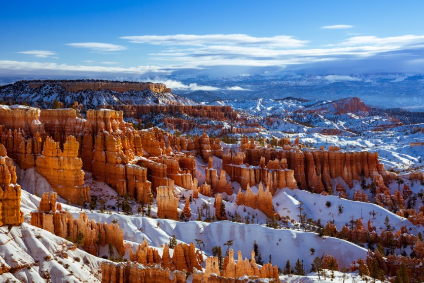 Bryce Canyon National Park in Winter, Utah
