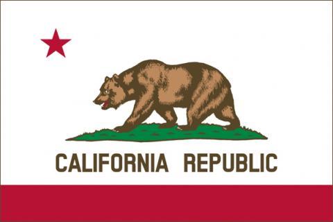 California Flag Bear Flag
