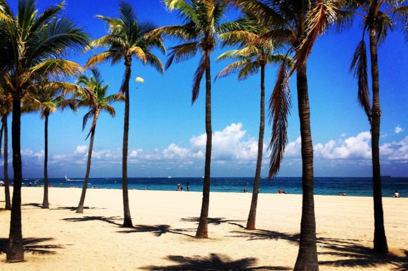 Fort Lauderdale Beach Florida