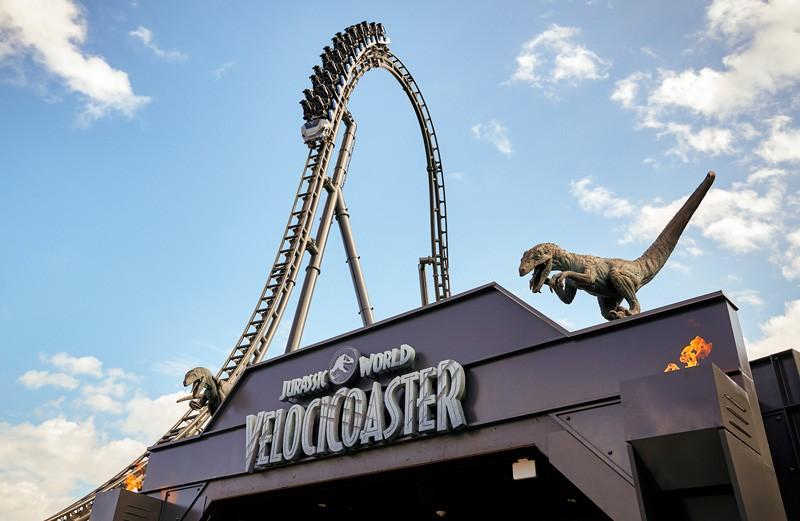 Afbeelding van Jurassic World Velocicoaster Roller Coaster Universal Orlando 5