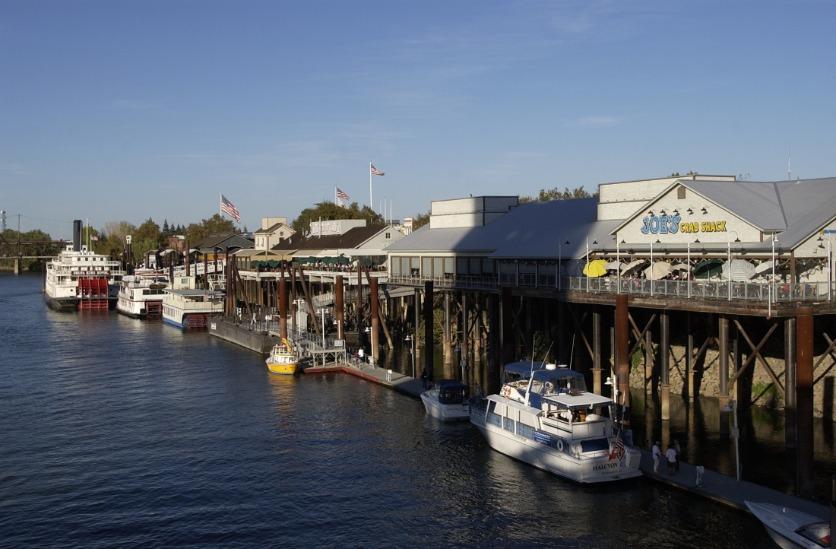 Old Sacramento Daytime Waterfront