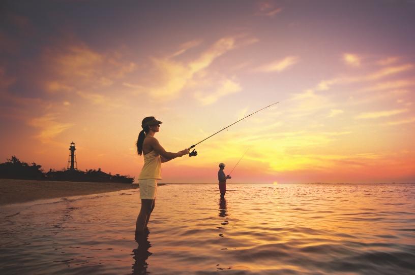 Fishing on Sanibel Island